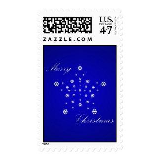 Chrismas Star Postage Stamp