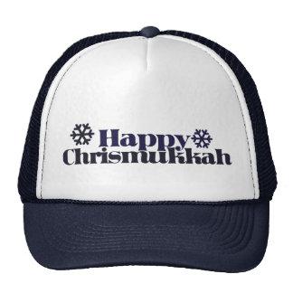 Chrismukkah feliz gorra