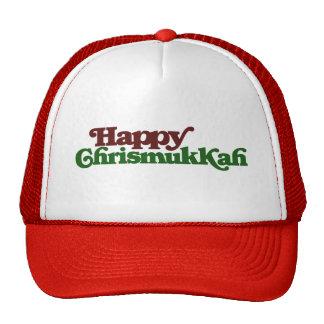 Chrismukkah feliz gorras