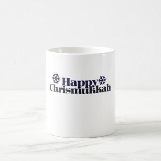 Chrismukkah feliz tazas de café