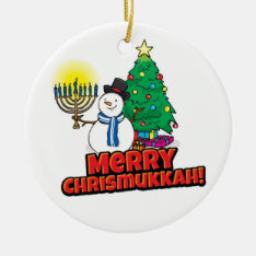 Chrismukkah Tree Ornament at Zazzle