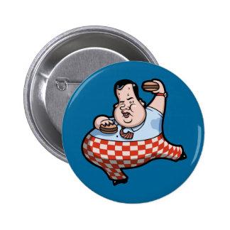 Chrispy quebradizo Prez de hamburguesas Pin Redondo 5 Cm