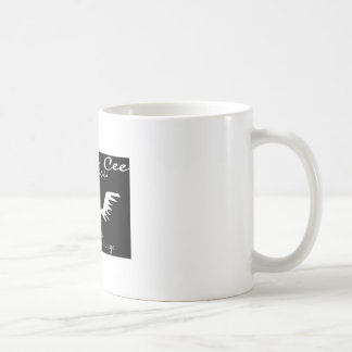 Chriss Cee collection Classic White Coffee Mug