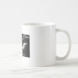 Chriss Cee collection. Classic White Coffee Mug