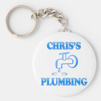 Chris's Plumbing Keychain