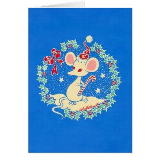Chrissie the Christmas Mouse Card
