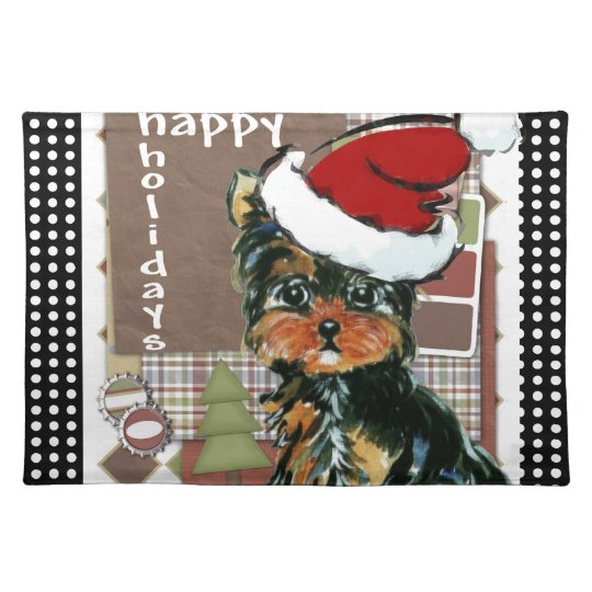 CHRISSY YORKIE POO PLACEMAT