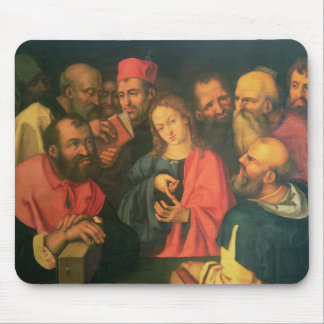 Christ, aged twelve, among the scribes mouse pad