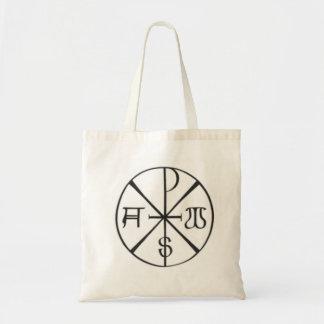 Christ - Alpha and Omega Budget Tote Bag