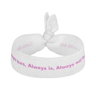 Christ Always wrist band / hair tie