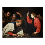 Christ among the Doctors, c.1630 Post Card