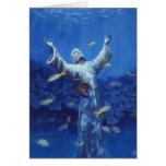 christ and angelfish cards