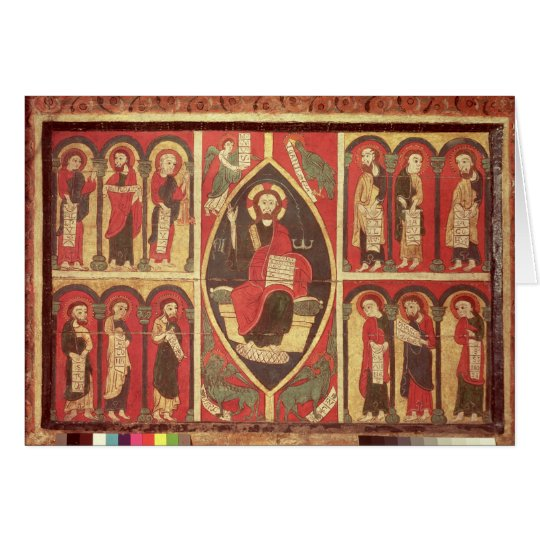 Christ and His Apostles Card