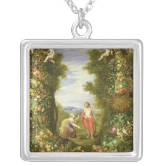 Christ and Mary Magdalene Custom Necklace