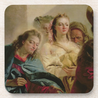 Christ and the Adulteress, 1751 (oil on canvas) Coaster