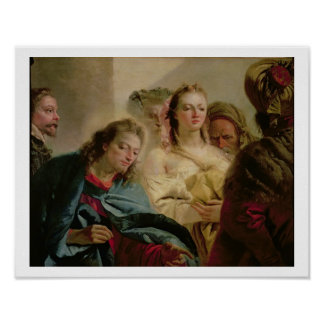 Christ and the Adulteress, 1751 (oil on canvas) Poster