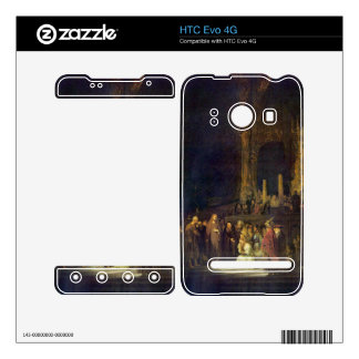 Christ and the Adulteress by Rembrandt Decals For The HTC Evo 4G