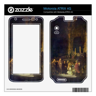 Christ and the Adulteress by Rembrandt Motorola ATRIX 4G Skins