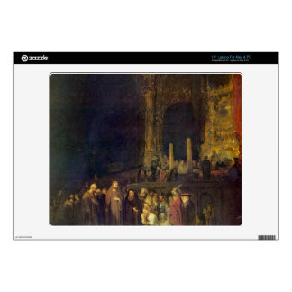 """Christ and the Adulteress by Rembrandt Skin For 14"""" Laptop"""