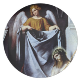 Christ and the Angel, c.1550-54 Dinner Plate