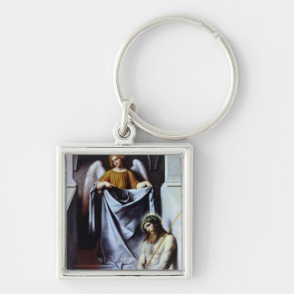 Christ and the Angel, c.1550-54 Keychain