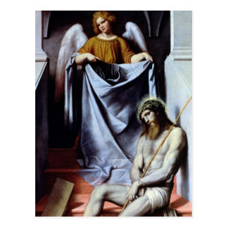 Christ and the Angel, c.1550-54 Postcard