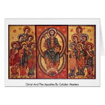 Christ And The Apostles By Catalan Masters Card