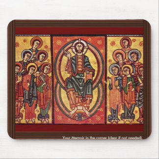 Christ And The Apostles By Katalanischer Meister ( Mouse Pads