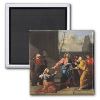 Christ and the Canaanite Woman, 1783-84 Magnet
