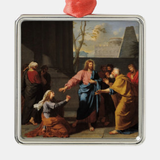 Christ and the Canaanite Woman, 1783-84 Metal Ornament