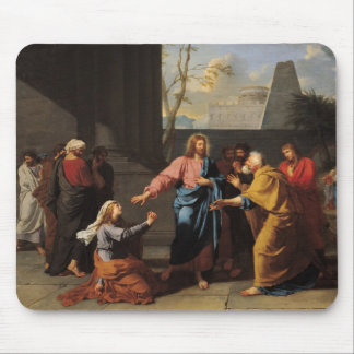 Christ and the Canaanite Woman, 1783-84 Mouse Pad