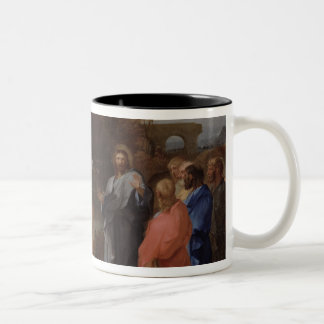 Christ and the Centurion Two-Tone Coffee Mug