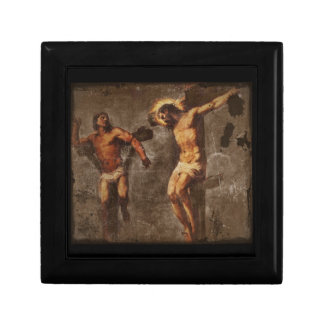 Christ and the Good Thief Keepsake Box