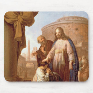 Christ and the Rich Young Ruler, 1640 Mouse Pad