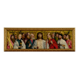 Christ and the Twelve Apostles Poster