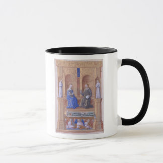 Christ and the Virgin Mary Enthroned Mug