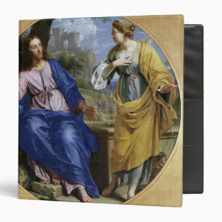 Christ and the Woman of Samaria 3 Ring Binder