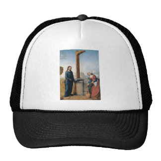 Christ and the Woman of Samaria c. 1500 Trucker Hats