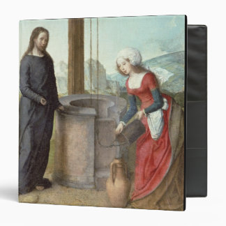 Christ and the Woman of Samaria, c.1500 (oil on pa Binder
