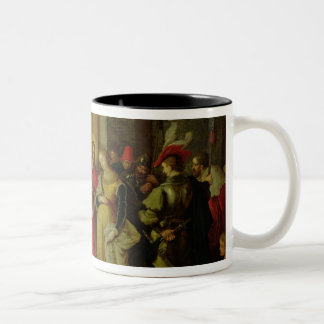 Christ and the Woman Taken in Adultery Mugs