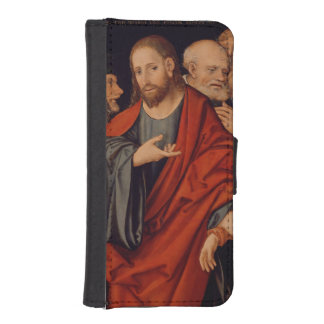 Christ and the Woman taken in Adultery iPhone 5 Wallets
