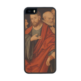 Christ and the Woman taken in Adultery Carved® Maple iPhone 5 Case