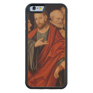 Christ and the Woman taken in Adultery Carved® Maple iPhone 6 Bumper Case