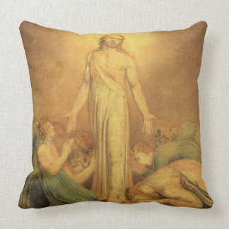 Christ Appearing to the Apostles after the Resurre Throw Pillow