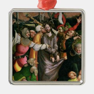 Christ arrested in the Garden of Gethsemane Metal Ornament
