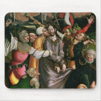Christ arrested in the Garden of Gethsemane Mouse Pad
