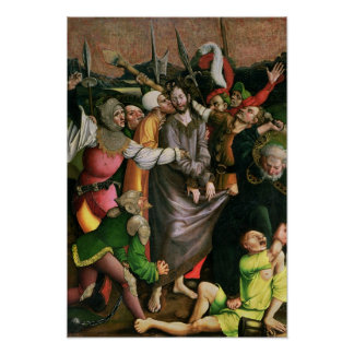 Christ arrested in the Garden of Gethsemane Poster