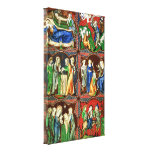 Christ As A Child Stretched Canvas Prints