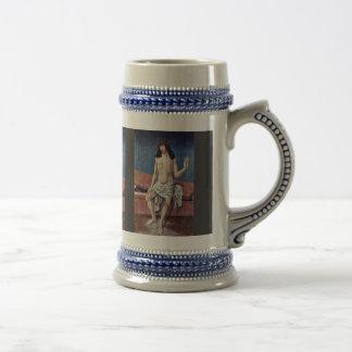 Christ As Man Of Sorrows By Frueauf D. Ä. Rueland Coffee Mugs