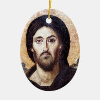 Christ as Ruler of All Ceramic Ornament